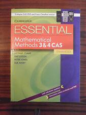 CAMBRIDGE ESSENTIAL MATHS METHOD 3&4 CAS ENHANCED 1st EDITION