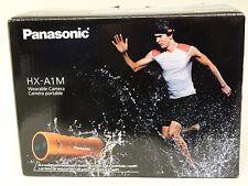 Brand New Panasonic HX-A1M Ultra-Light Wearable HD Action Camera (Orange) *NEW*