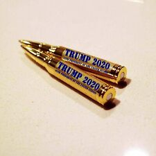 Donald Trump 2020 Pen 30 Caliber Bullet Lock and Load Brass Limited Edition
