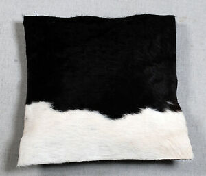 NEW COW HIDE LEATHER CUSHION COVER RUG COW SKIN Cushion Pillow Covers C-8137