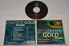 INSTRUMENTAL GOLD PIANO - VARIOUS ARTISTS - MUSIC CD RELEASE YEAR:UNKNOW