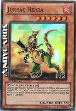 Jurrac Herra ☻ Super Rara ☻ HA04 IT018 ☻ YUGIOH ANDYCARDS
