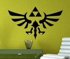 Legend of Zelda Wall Decal Zelda Triforce Vinyl Sticker Home Wall Art Decor 9zda