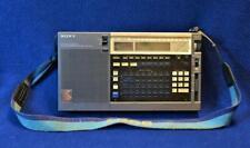 Vtg Sony ICF-2010 AIR/FM/LW/MW/SW World Radio Receiver Made Japan