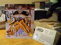 Tim Thomas Signed Boston Bruins 8x10 Photo Authentic COA Auto Autograph Gift