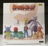 Pokemon Scale World Kanto 1/20 Scale - Complete Box Set 6 Packs 11 Figures