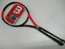 WILSON BLX FIERCE 100 RECREATIONAL LEVEL TENNIS RACQUET (4 3/8) PRE-STRUNG