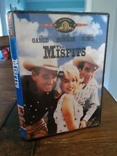 The Misfits DVD Marilyn Monroe Clark Gable Montgomery Clift  Like New