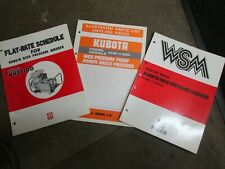 Kubota Khp1300 Pressure Washer Parts Amp Service Amp Repair Manual