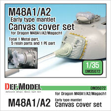 DEF. MODEL ,DM35072, US M48A1/A2 Early canvas cover set(for Dragon M48A1/A2,1:35