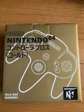 Nintendo64 Controller Gold Toys R Us Limited Boxed N64 Game Japan