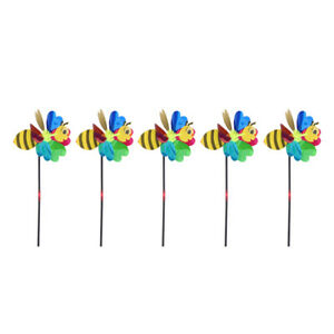 5pcs Useful Creative Windmill Wind for Garden Outdoor