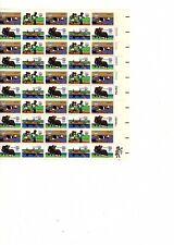 Scott 1791-1794 Us Stamp 3 Sheets of 50 Mnh 1980 Summer Olympics at Fv (orange