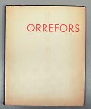 More details for scarce orrefors 1937 paris exhibition catalogue simon gate  hald lindstrand