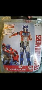 Transformers Optimus Prime Costume with mask Kids M 7/9 years great condition