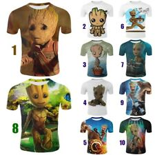 Oversized Women Men T-Shirt 3D Print Groot Movie Guardian Of The Galaxy Tee Tops