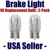 Stop//Brake Light Bulb 2pk 3057 Fits Listed Buick Vehicles