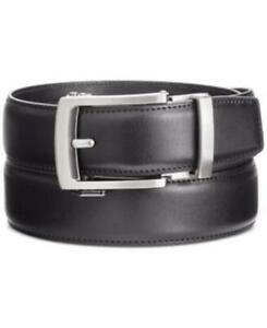 Kenneth Cole Reaction Mens Exact Fit Harness Dress Belt Black Small