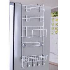 Over Door Storage Kitchen Basket Spice Rack 6 Tiers Pantry Closet  Fridge Holder
