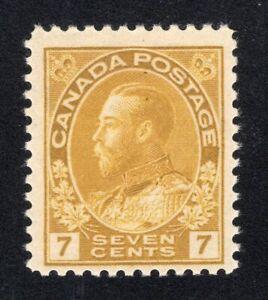 1911-25 Canada. Uni/SC#113. SG#209. Mint, Never Hinged, FVF.