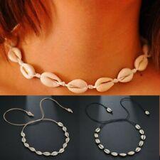 Collar para mujer bohemia natural Sea Shell Colgante Collar Gargantilla Joyería De Verano