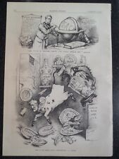 What Is The US Foreign Policy State Department Harper's Weekly 1882