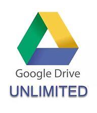 Ilimitado de Google Drive Unlimited tiempo de vida de almacenamiento en la nube acceso en línea de 24 horas