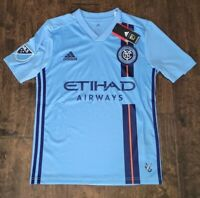 NYCFC NEW YORK CITY FC Home Jersey 2019/2020 YOUTH KIDS SIZE LARGE DP4785 $70