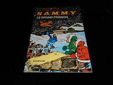 Berck / Cauvin : Sammy 13 : Le grand frisson EO Dupuis souple 1980