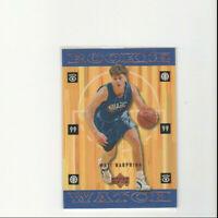 1998/99 Upper Deck Bronze Matt Harpring Rookie Parallel Card! Rare #'d 15/100 RC