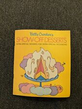 Betty Crocker's Show-Off Desserts recipe pamphlet from 1970