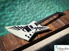 2009 Gibson Explorer Limited Edition Tribal Arctic White -w/ ALL Fac. Paperwork