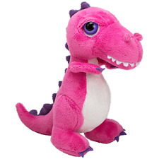 Suki Gifts International T-Rex Dinoz Soft Dinosaur Plush Toy (Small, Pink)