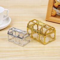 Organizer Plastic Transparent Jewelry Storage Treasure Chest Pirate Candy Box