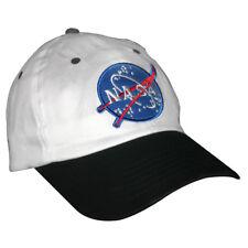 White And Black NASA Child Hat Astronaut Pilot Baseball Cap Flight Costume Gift