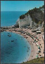 AA7999 Riviera del Conero (AN) - Spiaggia di Sirolo e Grotta Urbani - Cartolina