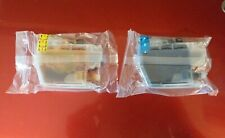 2 x Compatible for Brother LC3219XL Ink Cartridges yellow and cyan new sealed