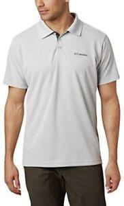 Columbia Men's Utilizer Polo Cool Grey Large
