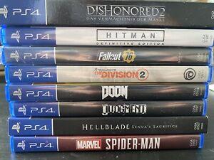 PS4 Spiele Paket