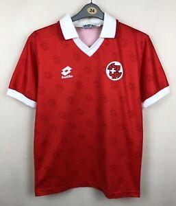 SWITZERLAND NATIONAL 1994/1996 HOME FOOTBALL JERSEY MAGLIA SHIRT VINTAGE #7