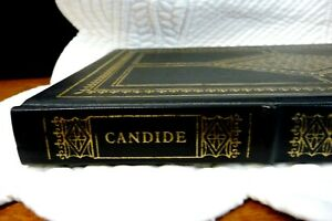 Franklin Library Book, Candide, Voltaire, HB, Gilt Edge, 1979