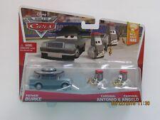 Disney Pixar Cars 2 FATHER BURKE CARDINAL ANTONIO ANGELO RACE FANS CB-GGG