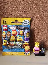 Lego Minifigures The Simpson Series 2~ Lisa and Snowball II with Stand