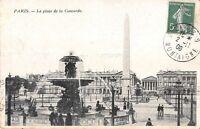 CPA 75 - PARIS - La Place de la Concorde