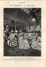 1906 Ascot Costumes Peter Robinson's Wealthy Maltese Family Valletta