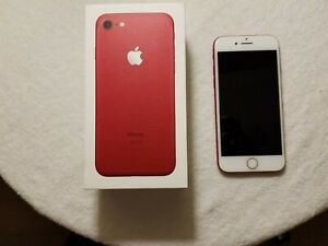 Apple iPhone 7 (PRODUCT)RED - 128GB - (Unlocked) A1660