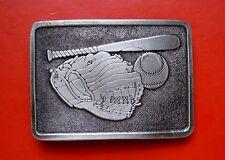 VTG Baseball Items Belt Buckle