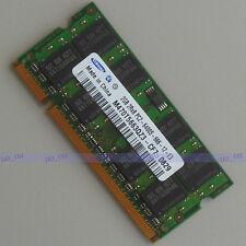 NEW Samsung 2GO DDR2 800 800mhz PC2-6400S Laptop Mémoire 2G Ram Sodimm free ship