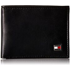 Tommy Hilfiger Oxford Slim Bifold Wallet - Black