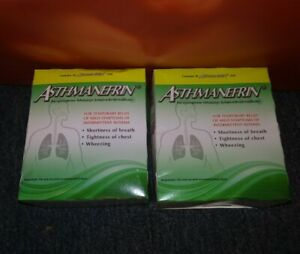 60 -Asthmanefrin Asthma Treatment Refills. Each in a STERILE VIAL(2 Boxes of 30)